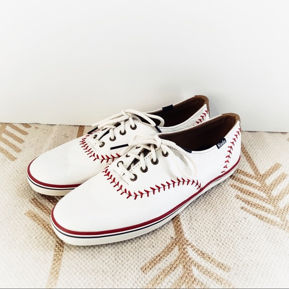 536d88cbbd0 Keds Shoes - Keds Champion Pennant Leather Baseball Sneakers